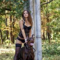 Дама с собачкой :: Сергей Кумач
