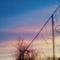 Рассвет из моего окна :: Kseniya Merkulova