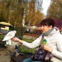Любовь и голуби... :: Елена