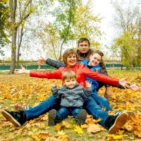 Осенний семейный позитив :: Albina