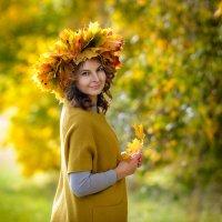 Девушка-осень :: Наталья ***