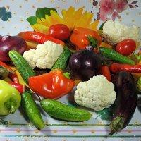 А вы запаслись овощной икрой на зиму?:) :: Андрей Заломленков