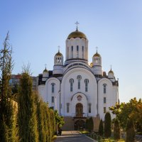 Церковь Ксении Петербургской :: Oleg Akulinushkin