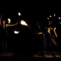 Огненные танцы. :: isanit Sergey Breus