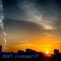 Питер закат нежный :: Юрий Плеханов