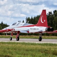"NF-5A ""Turkish stars"" aerobatic team :: Павел Myth Буканов"