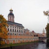 Благовещенская церковь, Просфорный и Семинарские корпуса, Северо-западная башня (Ризничная) :: Елена Павлова (Смолова)
