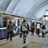 Прибытие поезда :: Владимир Морозов