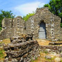 Развалины византийского храма в Лоо :: Vladimir Perminoff