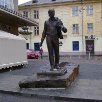 Памятник   Владимиру   Ивасюку    в   Львове :: Андрей  Васильевич Коляскин