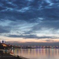 Закат над Камой :: Елена Загородская