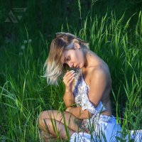 Портрет в траве :: Борис Лебедев
