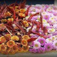 а цветочки с перчиком :: Олег Лукьянов
