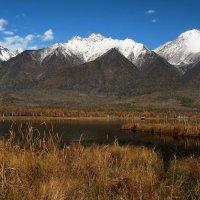 У подножья гор высоких озеро лежит... :: Александр Попов