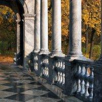 Мост в осень... :: Ирина Румянцева
