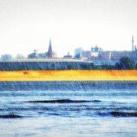 Кремль в дожде... :: Андрей Головкин