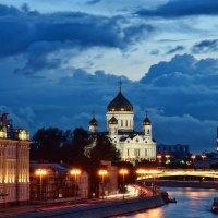 Синий вечер :: Ирина Бирюкова
