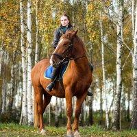на коне :: Yana Odintsova