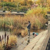 Осенняя рыбалка. :: сергей лебедев