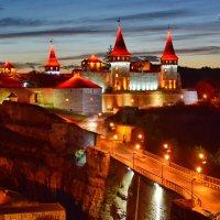 Каменец-Подольская крепость на вечерней зорьке... :: Леонид Школьный