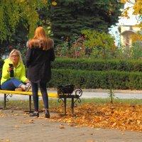 Волосы цвета осени... :: Юрий Гайворонский