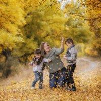 Мама и сыночки :: Елена Федорова