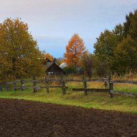 Осень в деревне :: Павлова Татьяна Павлова