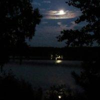 Ночт на озере Инышко :: Вера Щукина