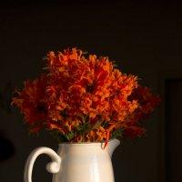 Оранжевый букет :: Ефим Журбин