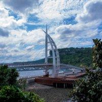 Прогулочный пешеходный мост на острове Чеджу :: Дмитрий