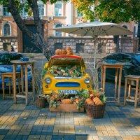 Осень на улицах Одессы. :: Вахтанг Хантадзе