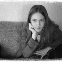 портрет семиклассницы :: Светлана Хлебникова