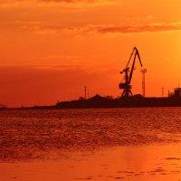 закатное море :: Роза Бара