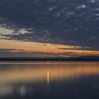 Летний вечер на водохранилище Август 2015 :: Юрий Клишин