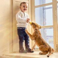 Детская радость :: Наталья Мячикова