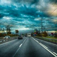 Питер Московское шоссе Шушары :: Юрий Плеханов