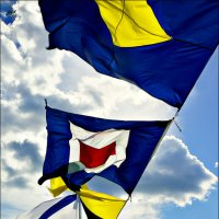 Флаги расцвечивания... :: Кай-8 (Ярослав) Забелин