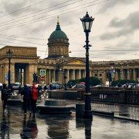 Дождливый Петербург :: Андрей Лобанов