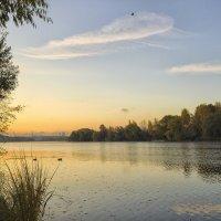 Раннее утро на Москве-реке. :: Александр Лебедевъ