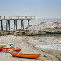 Одинокие лодки.. :: Елена Данько