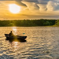 По солнечной дорожке плыву я не спеша... :: Наталия Горюнова