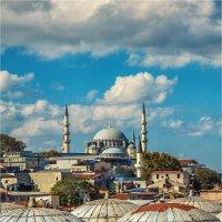 Вид на мечеть Сулеймание через крыши Гранд базара :: Ирина Лепнёва