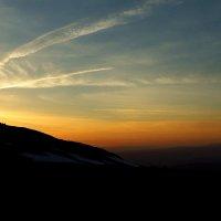 Поздний вечер в горах. :: Сергей Комков