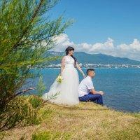 Жених и невеста смотрят на море :: Виктория Балашова