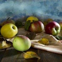 Осеннии яблоки :: Валерий Хинаки
