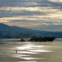 Вечер над Цюрихским озером. :: Наталья