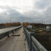 По мосту через Волгу :: ninell nikitina