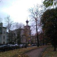 Православная церковь в Александровском саду. (Санкт-Петербург, октябрь). :: Светлана Калмыкова