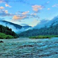 Вечер на реке :: Сергей Чиняев