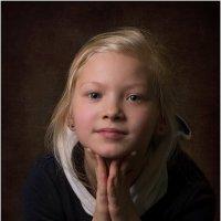 Детский портрет :: Борис Борисенко